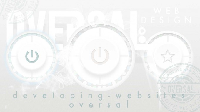Power buttons - Developing websites - Oversal