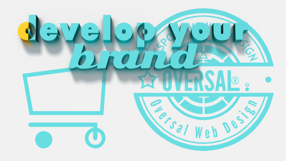 3D colourful text - Develop your brand - Oversal