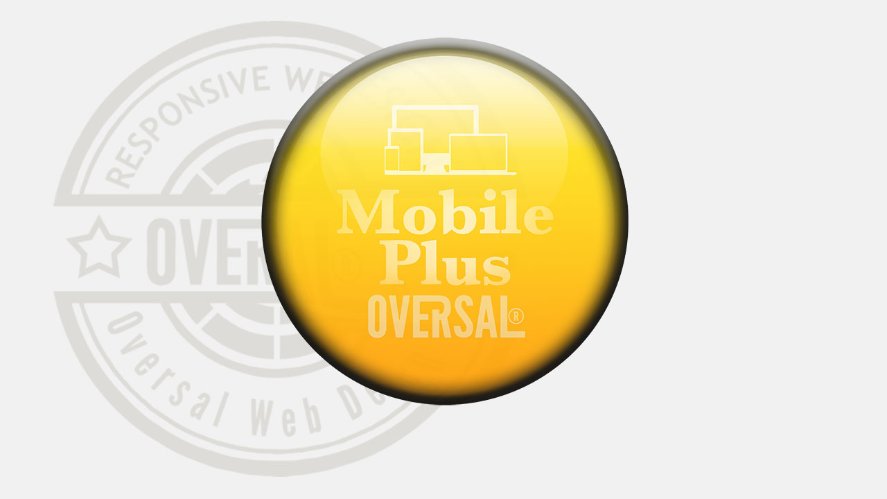 Elegant yellow orb with company stamp Oversal