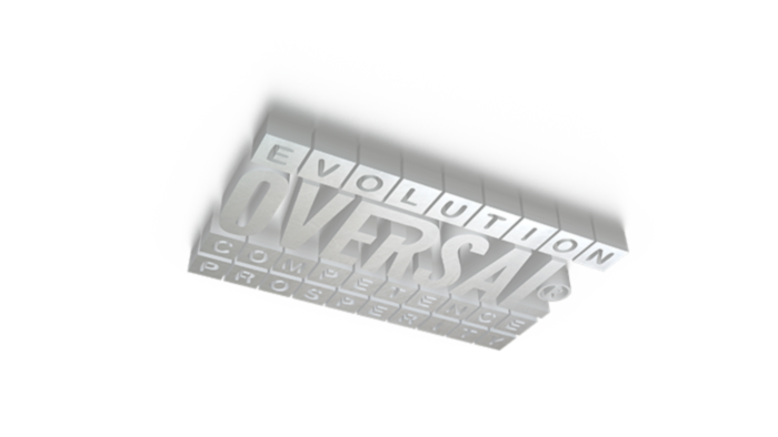3D graphic with evolution competence message