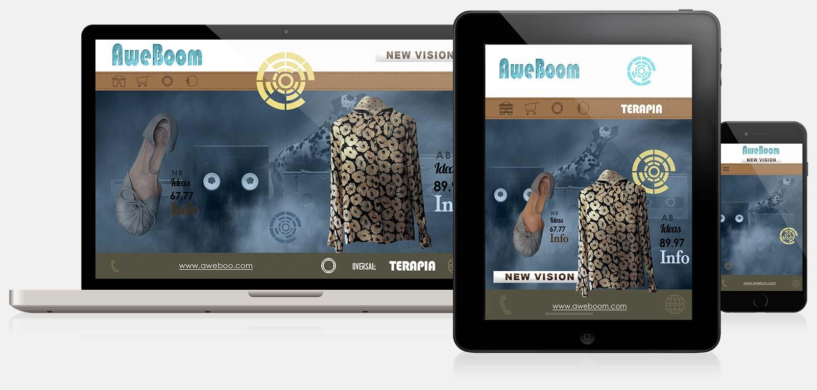 Aweboom responsive web design