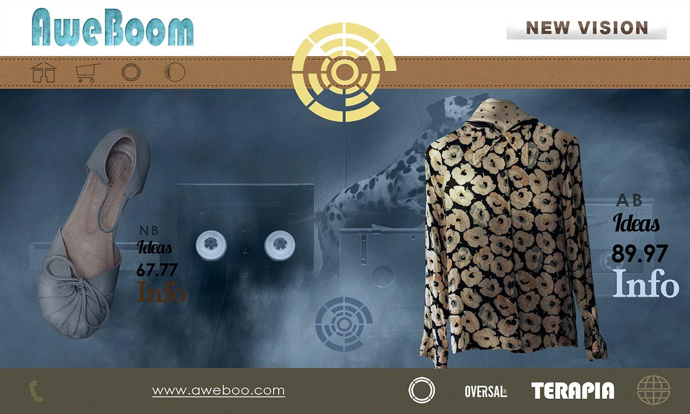 Aweboom home page