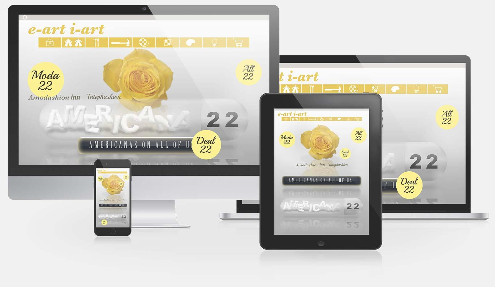 Eartiart responsive web design