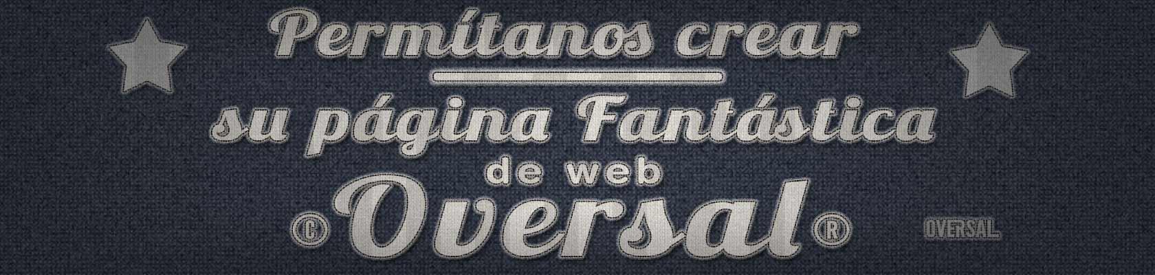 Fabric text with stars - Permítanos crear su página fantástica de web - Oversal