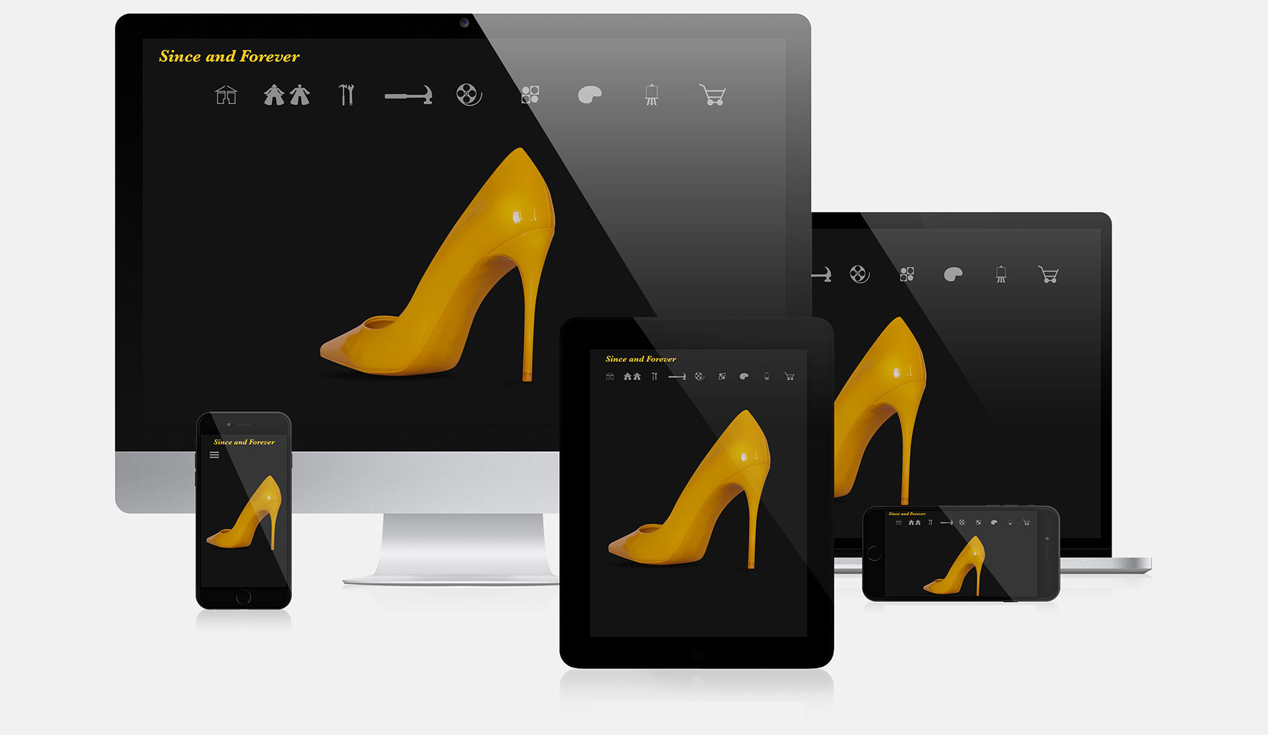 Since and forever responsive web design