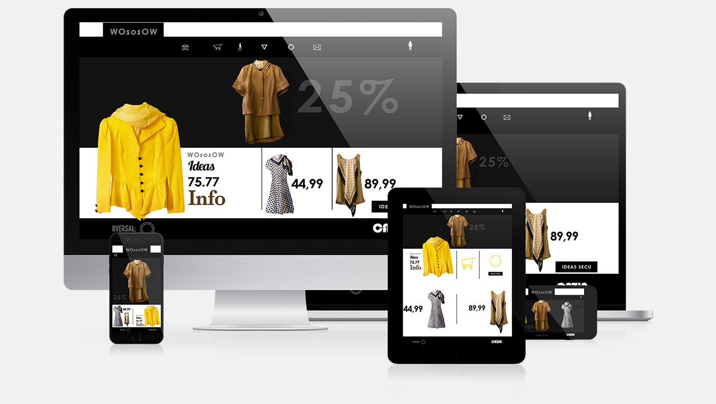 Wososow responsive web design